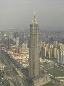 Torre Jinmao en Shanghai (Duvin / Licencia CC-BY-SA)