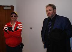 LeBlanc y su abogado Harold Doherty (Charles LeBlanc / Licencia CC-BY-SA)