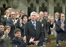 Gilles Ducepe, líder del Bloc Québécois (Jonathan Hayward / Canadian Press)