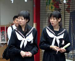 Colegialas japonesas (Foto: Elliot et Zach / Licencia CC)
