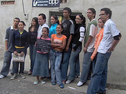 Los miembros del proyecto