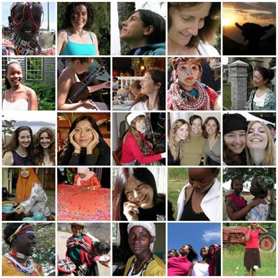 Mosaico Mujeres del Mundo (Angela Sevin et al./Flickr, licencia CC-BY)
