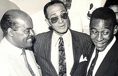 Leónidas da Silva, Arthur Friedenreich y Pelé