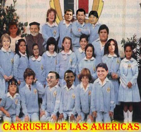 ... personajes de la telenovela mexicana 'Carrusel de las Américas