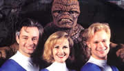 Protagonistas de 'The Fantastic Four' de 1994
