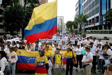 Marcha en Caracas