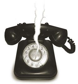 Teléfono roto
