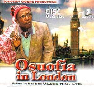 Caratula de pelicula de Nollywood