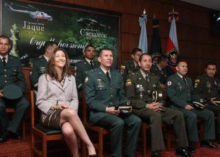 Ingrid Betancur celebra los dos años de la Operación Jaque