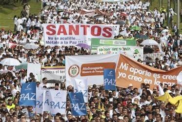 Marcha por la Paz del 9 de abril de 2013 (Foto: José Miguel Gómez/Reuters)