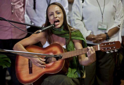 Tanja Nijmeijer en La Habana