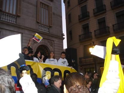 Marcha en Barcelona