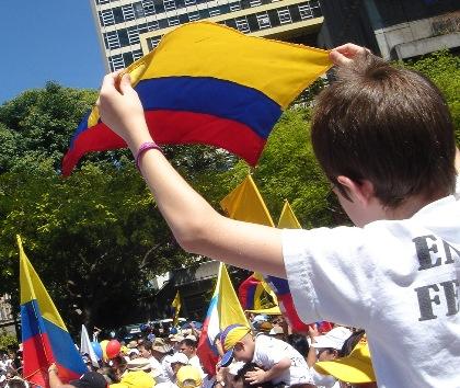 Concentración contra las FARC