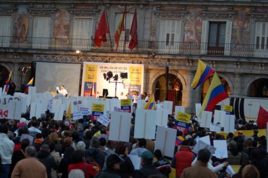 Marcha en Madrid