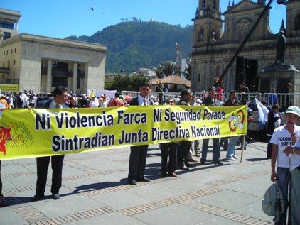 Ni violencia farca ni seguridad paraca