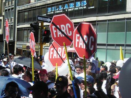 FARC tachado