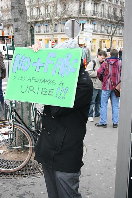 Concentración en París