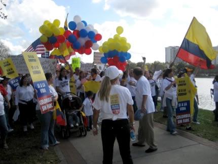 Marcha en Orlando