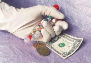 Medicina, dinero