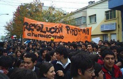 Αποτέλεσμα εικόνας για 2006 with the Revolución de los pinguinos