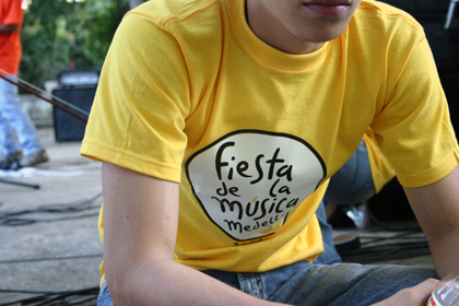 Camiseta Fiesta de la Música
