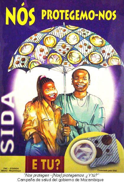 Campaña de salud del gobierno de Mozambique